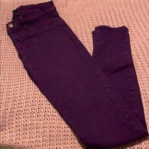 Studded Plum Jeans